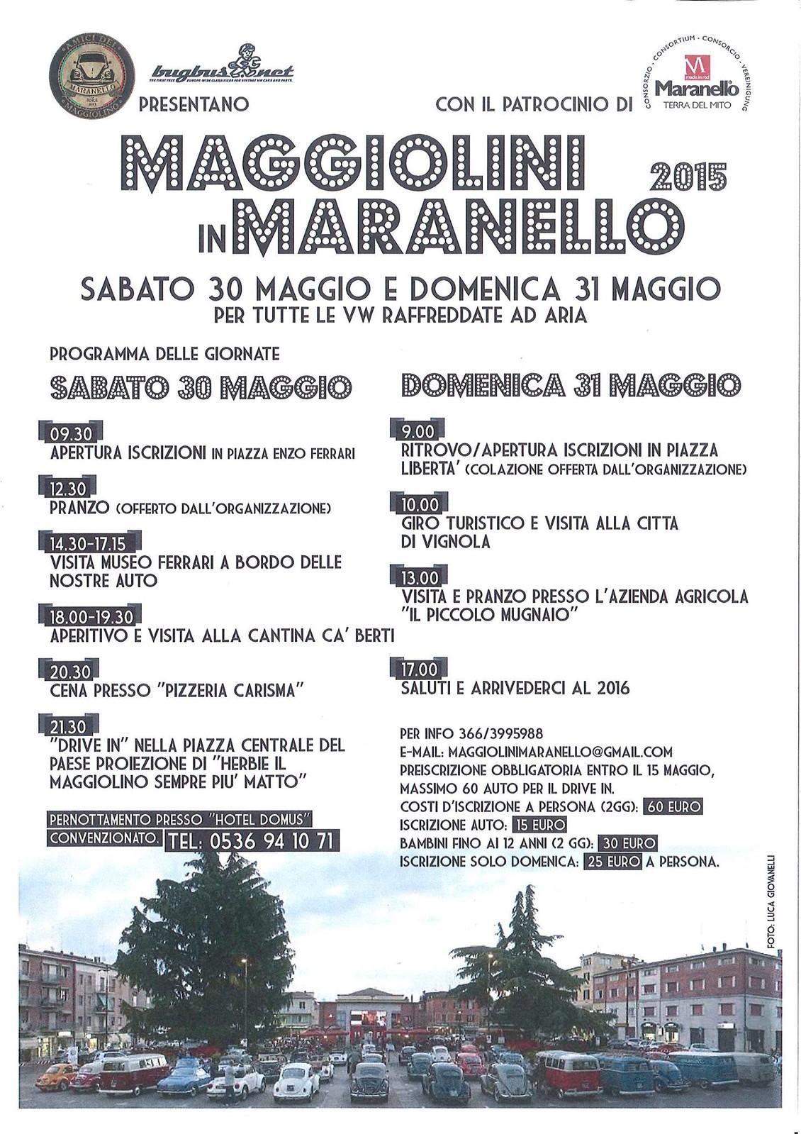 Maggiolini in Maranello