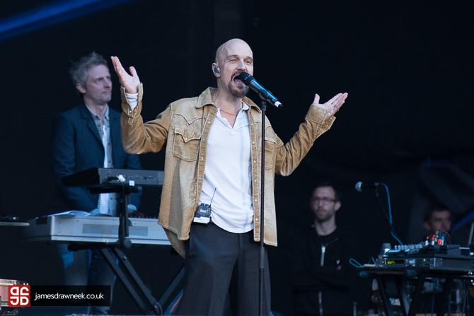 James at Scarborough Open Air Theatre