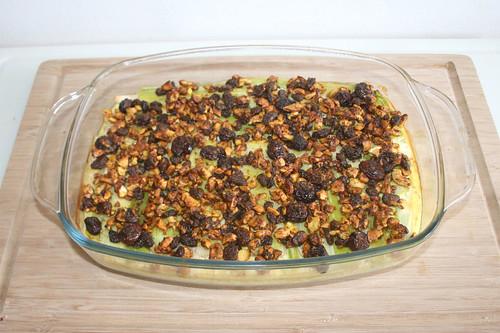 41 - Raisin leeks with cashew nuts & cranbeeries - Finished baking / Rosinenlauch mit Cashewnüssen & Cranberries - Fertig gebacken