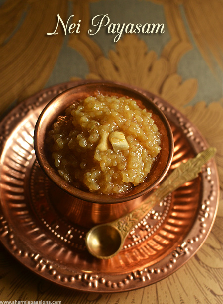 Nei Payasam Recipe