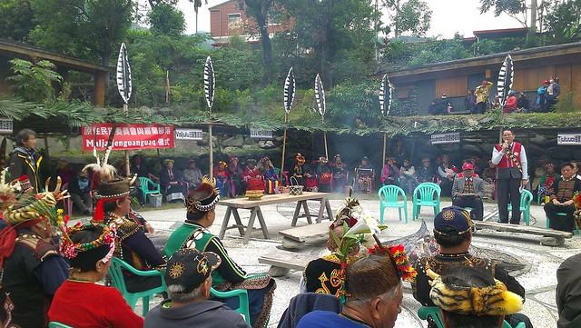 排灣族解決爭端的傳統和解儀式Maljaljenguanguaq。圖片來源:陳采邑。