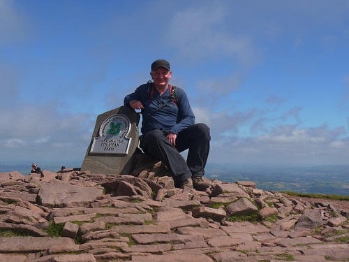 Me, highest man in Southern Britain