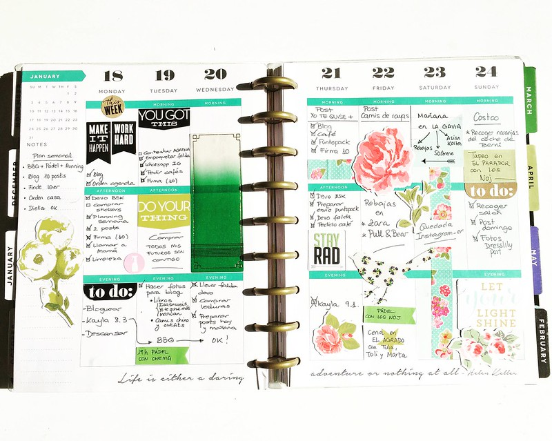 Agenda Happy planner decorada