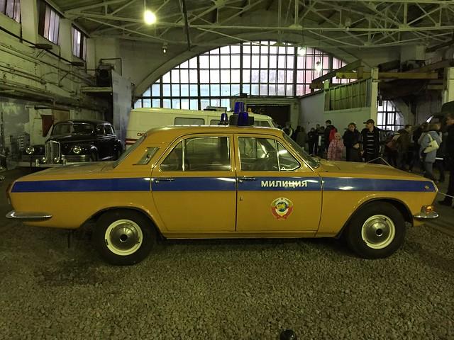 Автомобиль Милиции ГАЗ 24 Волга