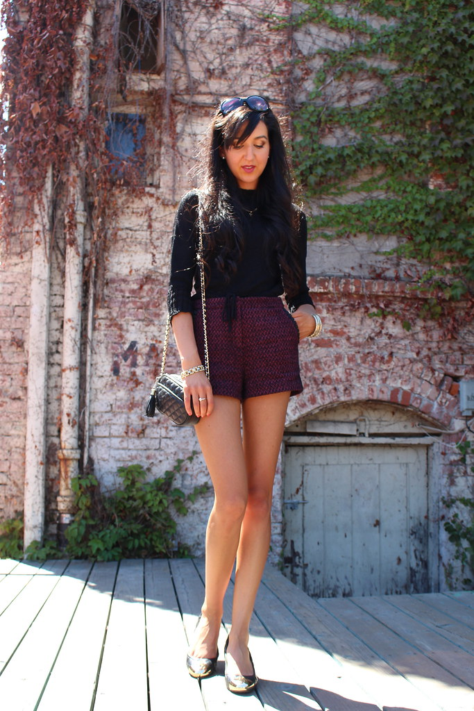 Tweed Shorts 2