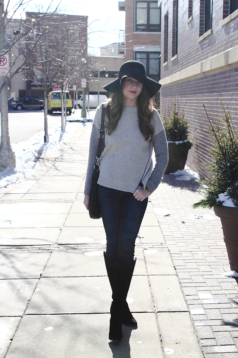 how-to-wear-a-black-floppy-hat