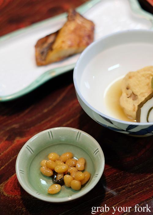 Honey beans at Nakayasu Ryokan, Kanazawa