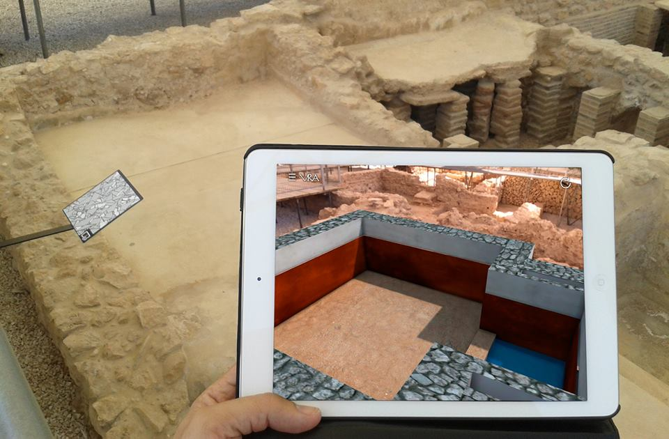 Restos arqueológicos_Virtualización de la Villa Romana del Albir en L'Alfas del Pi