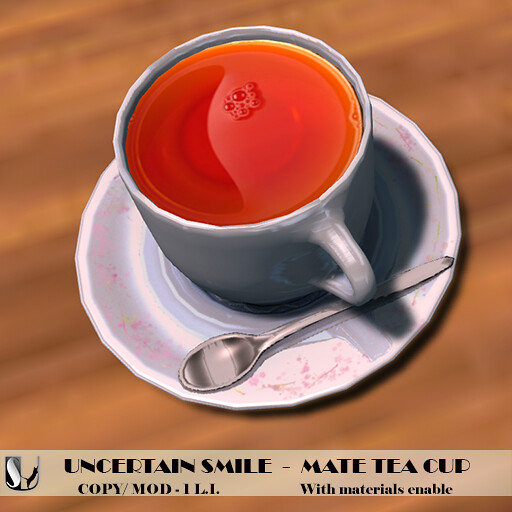 UNCERTAIN SMILE MATE TEA CUP