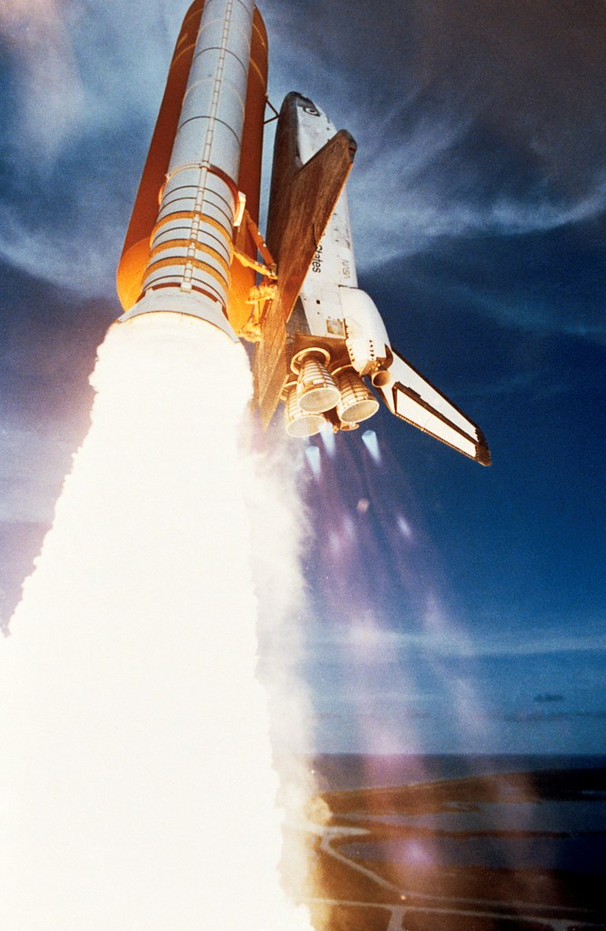 space shuttle launch booster separation - photo #17