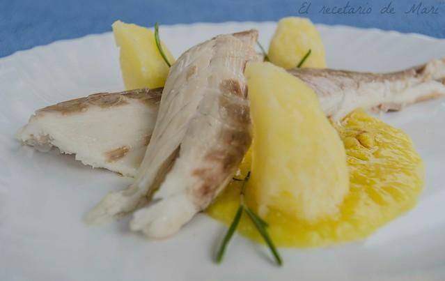 lubina a la sal con salsa de azafrán (1)