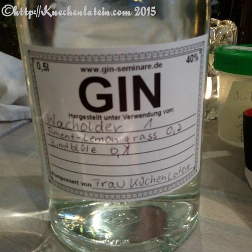 ©Gin Workshop in der Küche Ahoi - Frau Küchenlateins Gin
