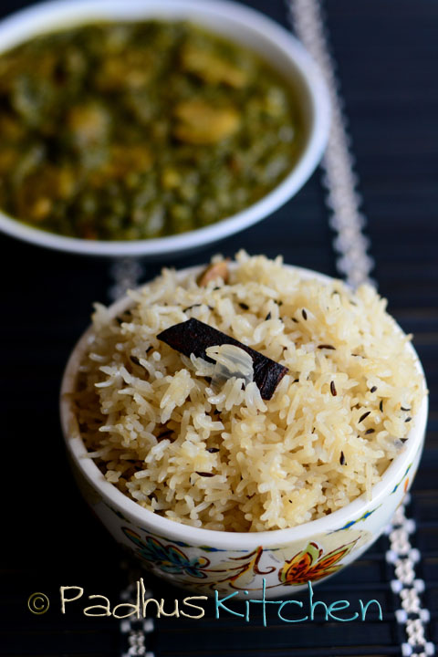 Jeera pulao-Jeera rice