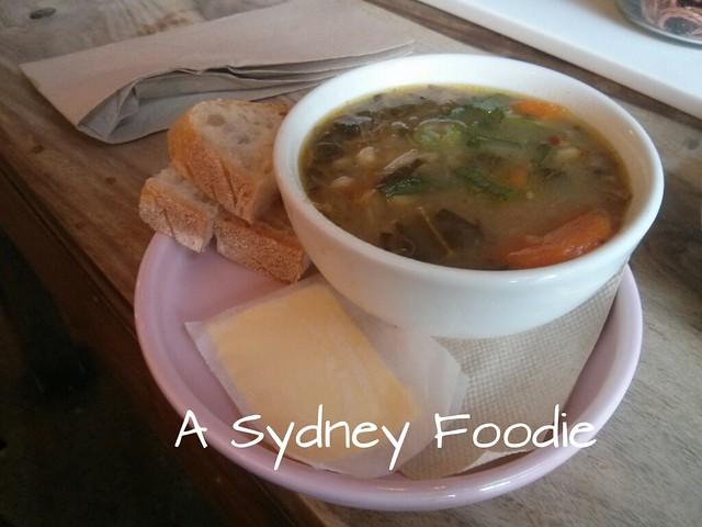 Lamb and Farro soup