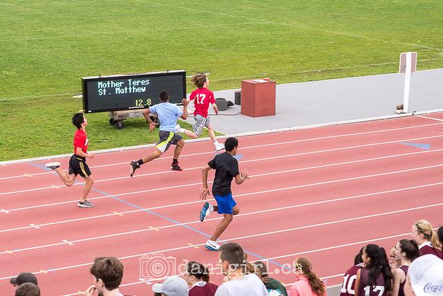 Tristan's big race