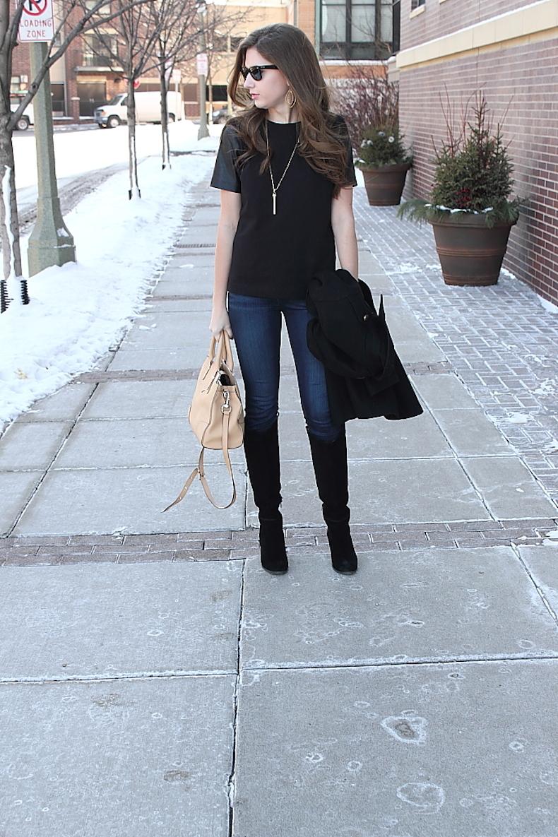 jcrew-black-leather-sleeve-shirt