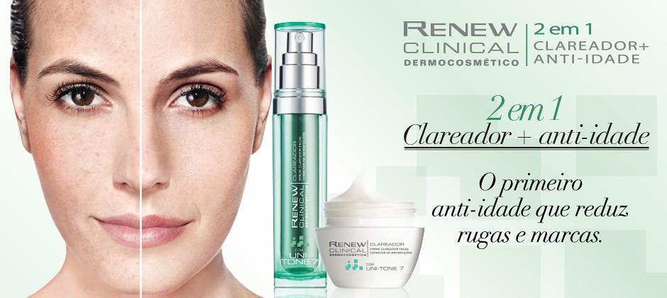 Avon lança Renew Clinical Dermocosmético Clareador