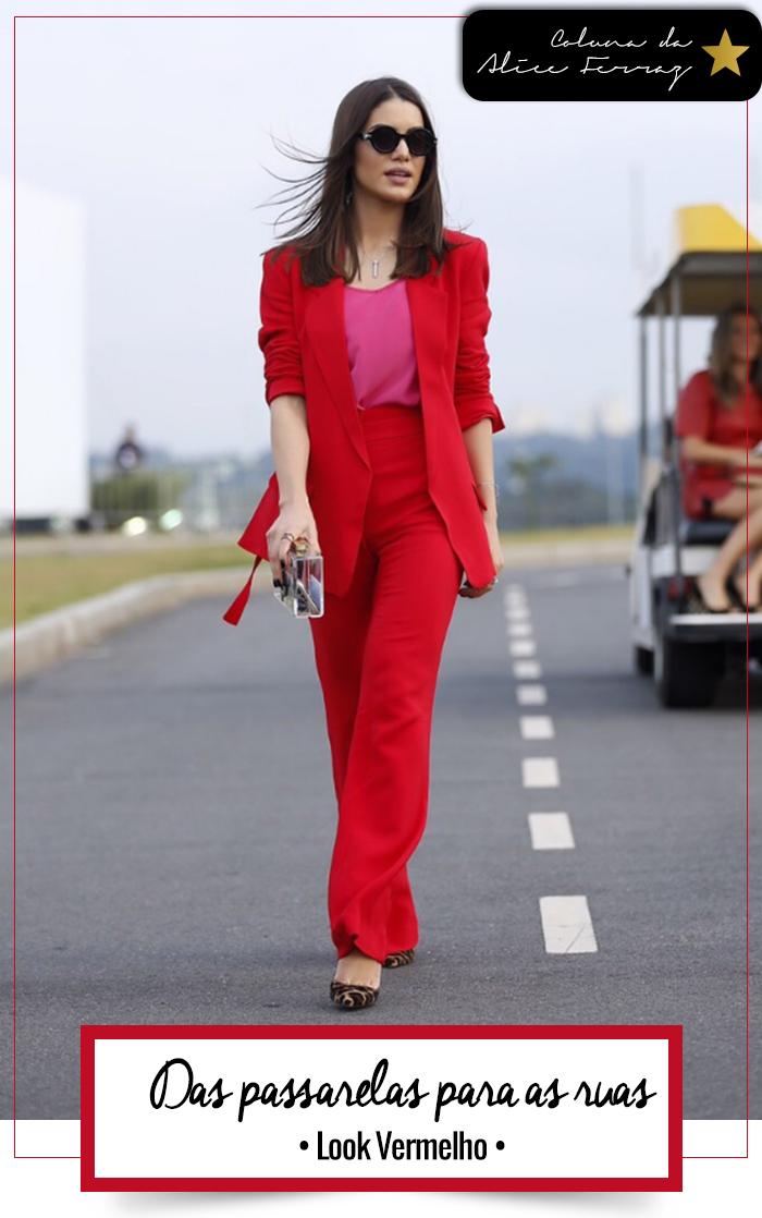 Super Vaidosa Trending  Look Vermelho - Super Vaidosa 7f26b54a2c1