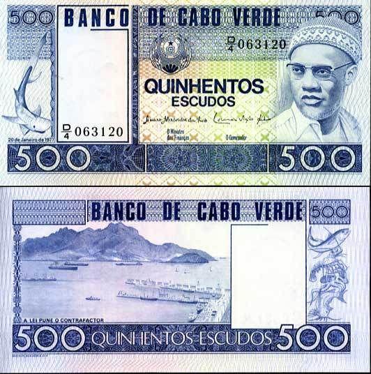 500 escudos Kapverdy 1977, Pick 55