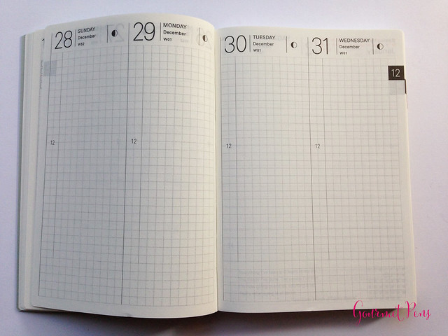 Review 2015 Hobonichi A6 Planner @TheJournalShop (14)