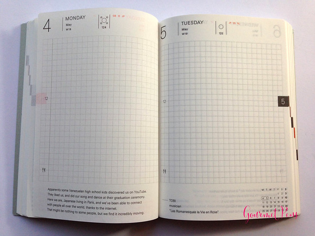 Review 2015 Hobonichi A6 Planner @TheJournalShop (7)