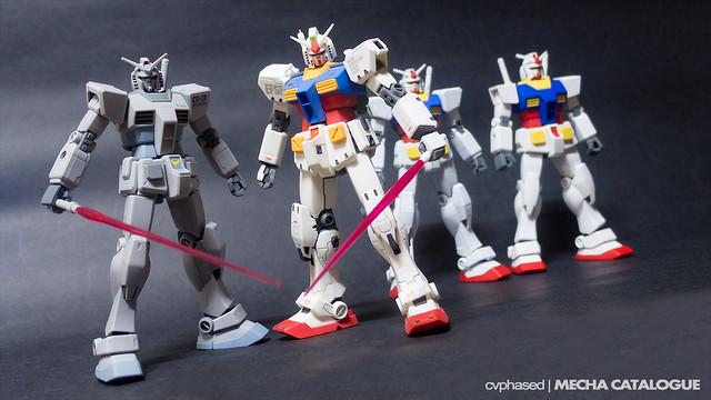 "HGUC G-3 Gundam & 1/144 RX-78-2 Gundam ""Ver.Ka"" - Completed Builds"