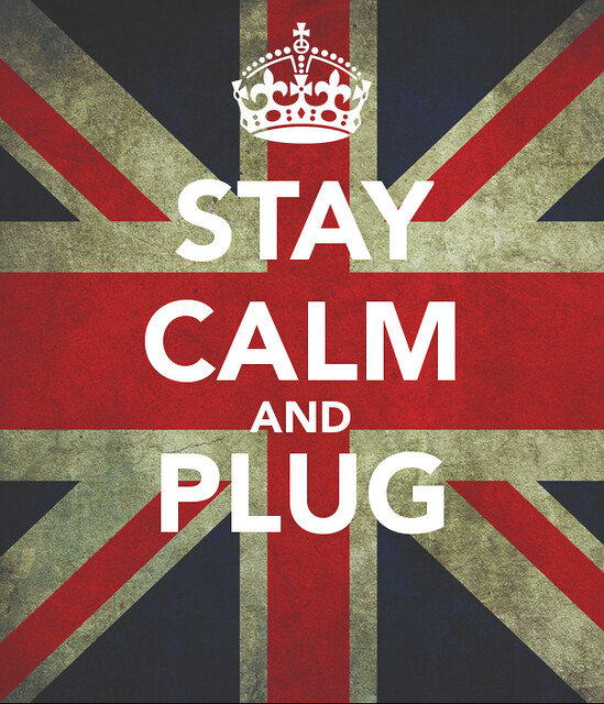 Stay calm and PLUG
