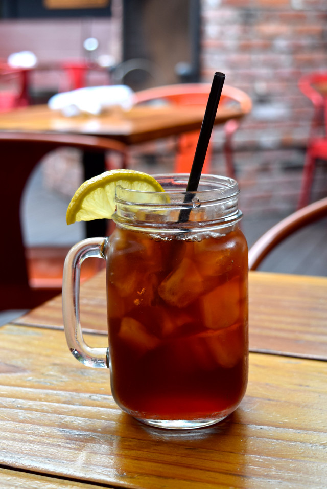 Iced Tea at TART, West Hollywood