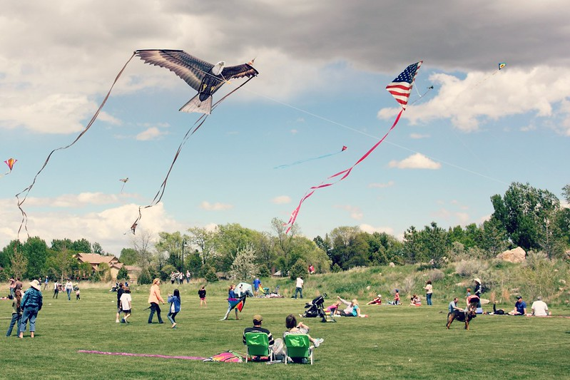 Kites in the Park, Fort Collins, Colorado