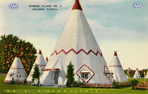 Wigwam Village No 4 Orlando Florida Originally Posted