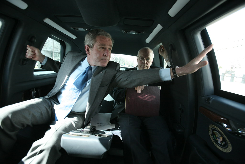 President Bush And Vice President Cheney Inside The Presid