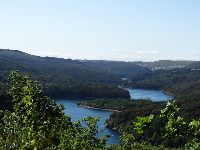 Embalse del Eume en las Fragas do Eume
