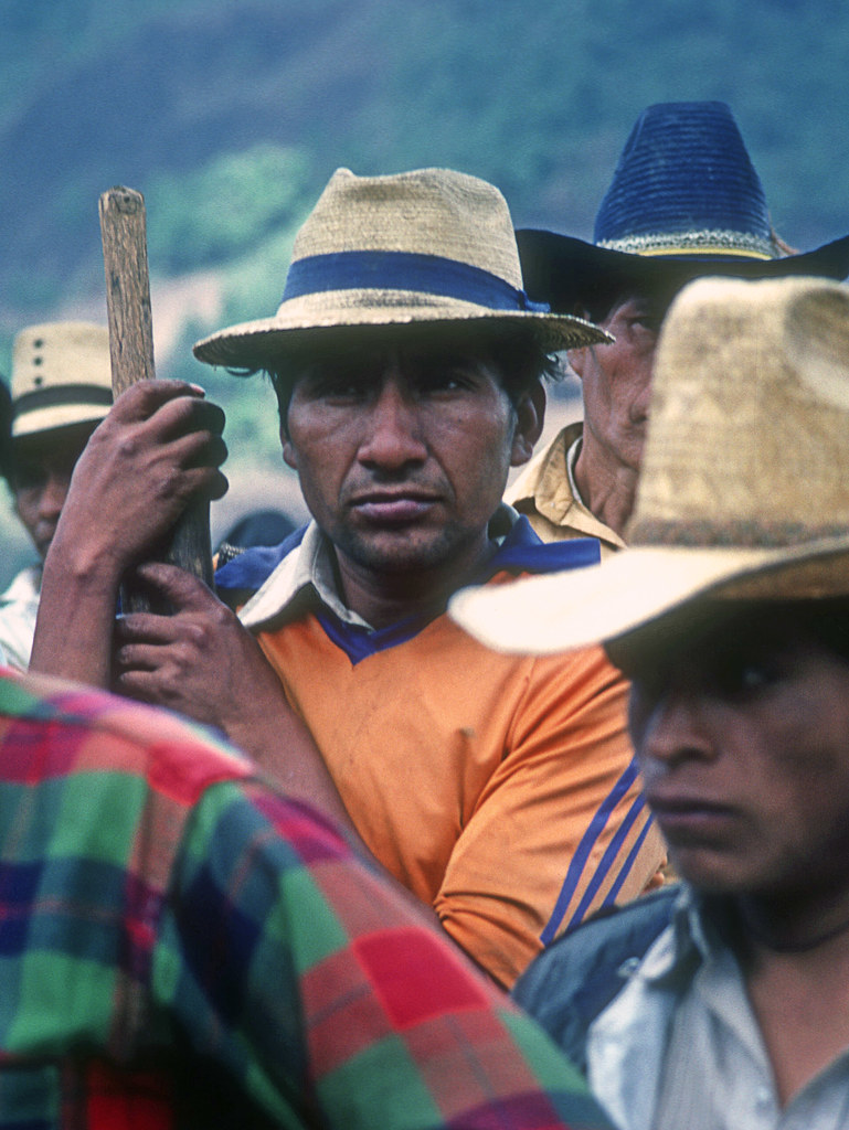 Displaced in resettlement camp, Guatemala, 1985+Scan-150609-0003 | by Marcelo  Montecino