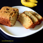 Eggless banana bread recipe