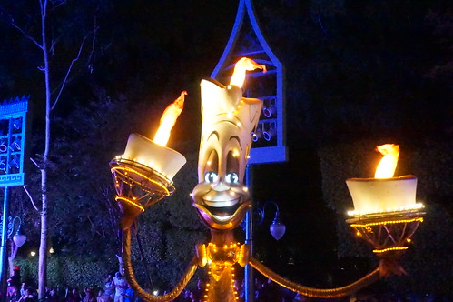 Lumiere in Paint the Night | by Disney, Indiana