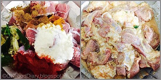 Mutton Biryani-preparation step 2