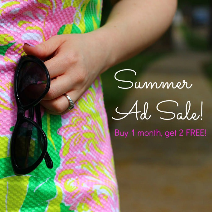 PS Summer Ad Sale