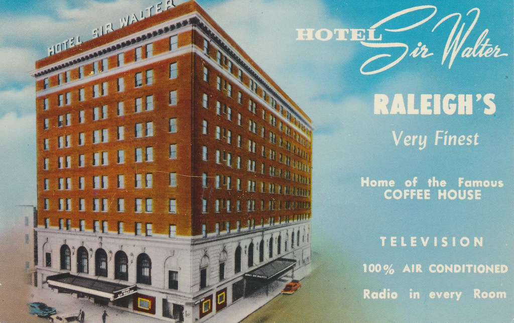 Hotel Sir Walter - Raleigh, North Carolina