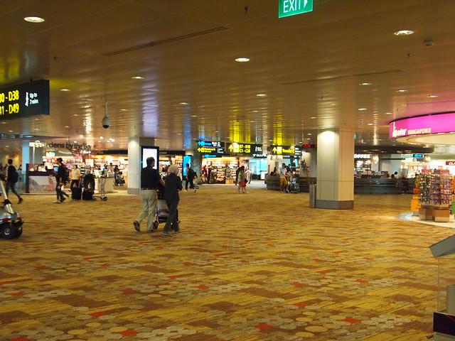 P4199487 チャンギ空港 シンガポール singapore