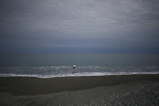 海に挑む ( Challenging a sea )