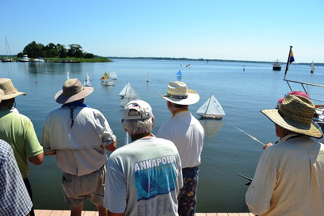 Around Campus: Model Skipjack Races