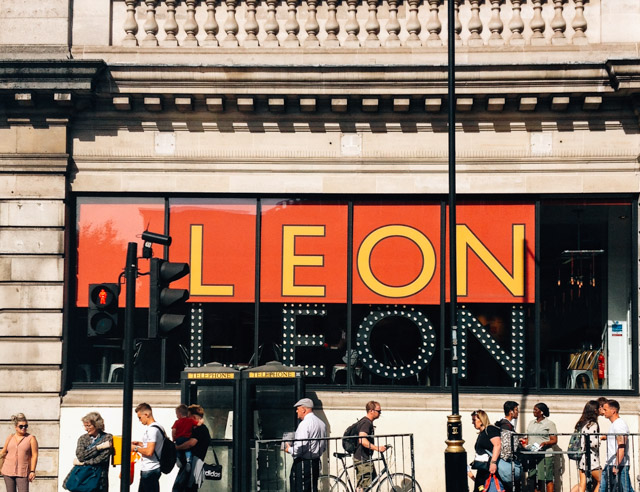leon cafe in london
