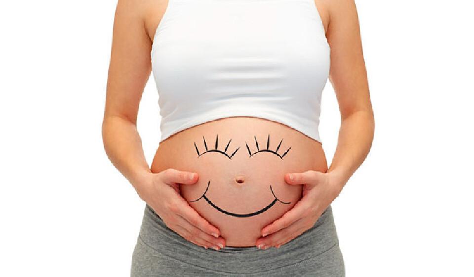 Если высокий живот у беременных