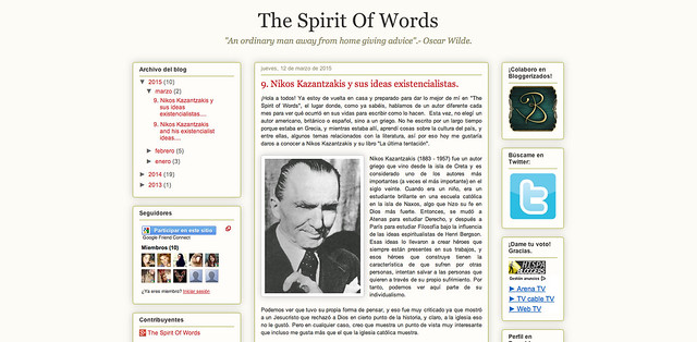 The Spirit of Words