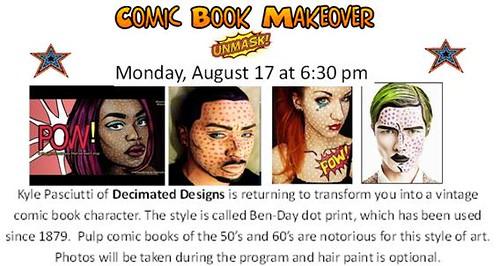 comic book make over