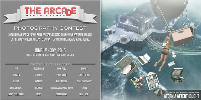 The Arcade Photography Contest - June, 2015