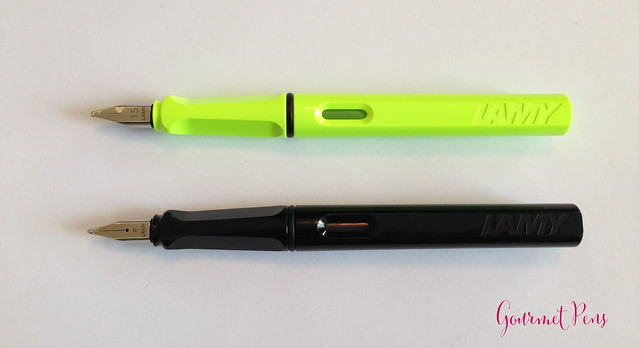 Review Lamy Safari LE 2015 Neon Lime Fountain Pen @Fontoplum0 @Lamy @LamyUSA (4)