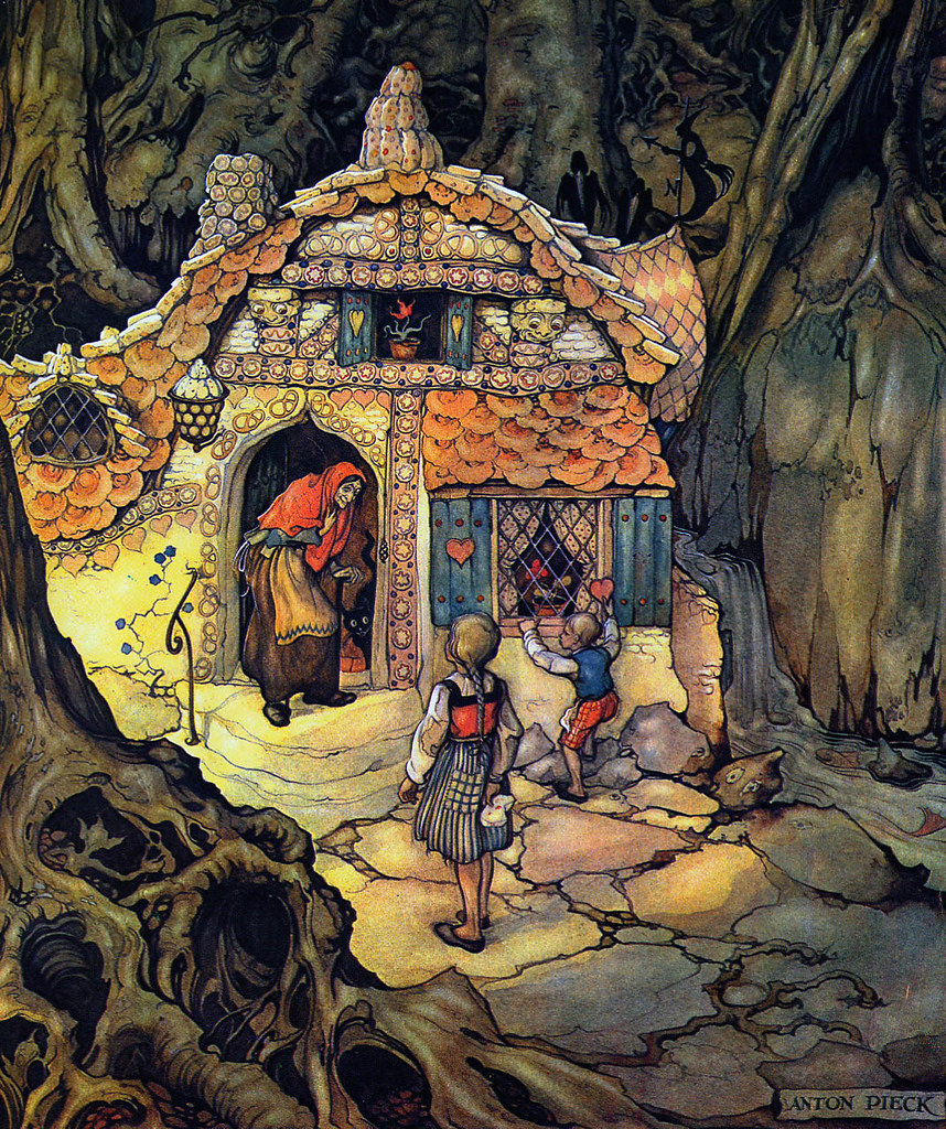 Anton Pieck - Hansel and Gretel