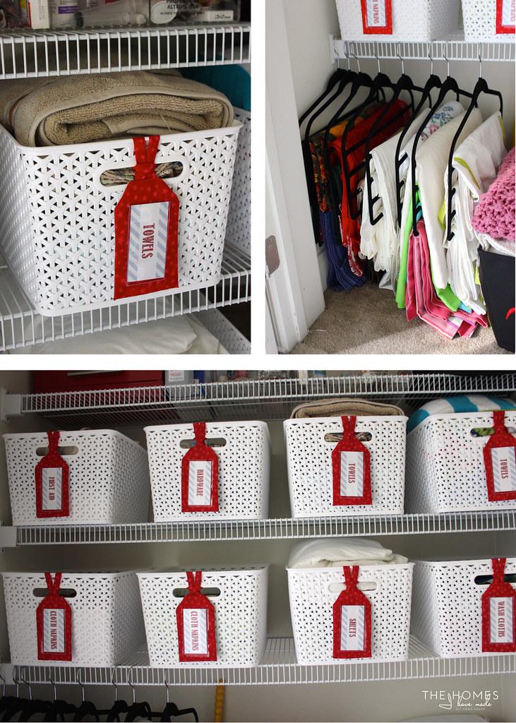 Home Tour | Linen Closet