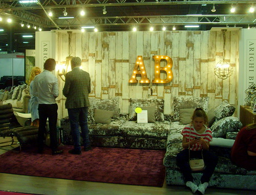 inside ideal home show manchester 2015 tony worrall tony